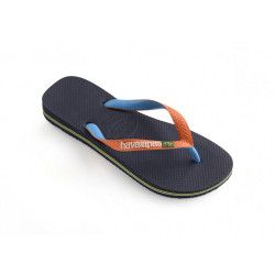 HAVAIANAS, Brasil mix, Navy/neon orange