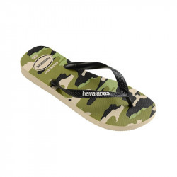 HAVAIANAS, Slim sensation, Hav. top camu beige/black