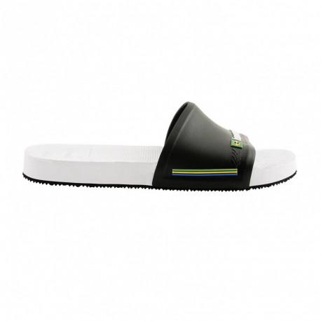 Slide brasil - White/black