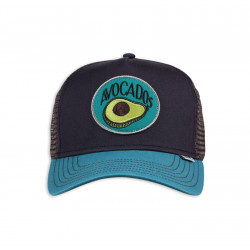 DJINNS, Hft cap food avocado, Navy