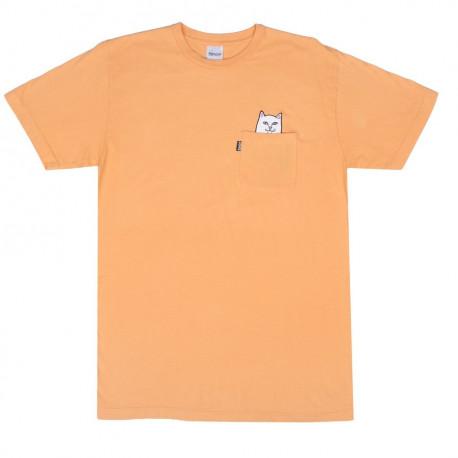Lord nermal pocket tee - Over dyed orange