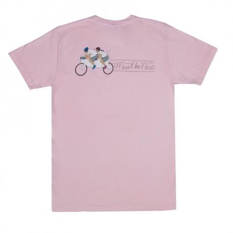 Tandum tee - Light pink