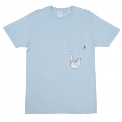 RIPNDIP, Falling for nermal tee, Baby blue tie dye