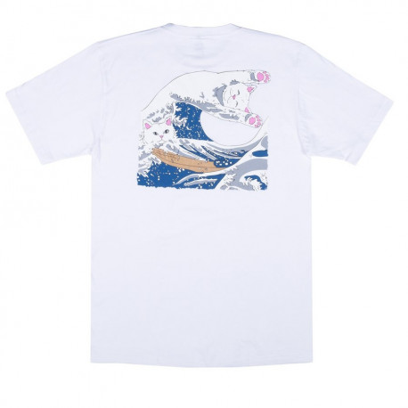 Great wave tee - White