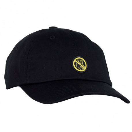 Hooked dad hat - Black