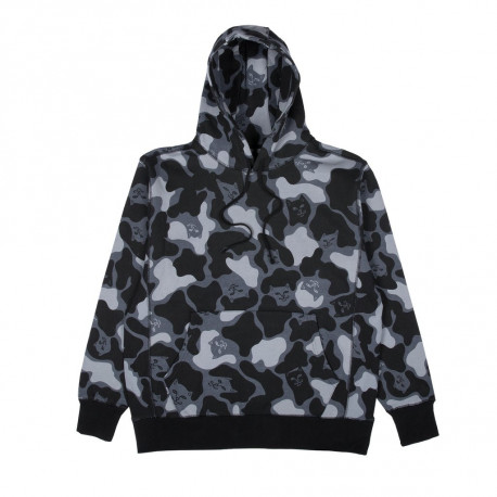 Nerm camo pullover sweater - Blackout camo