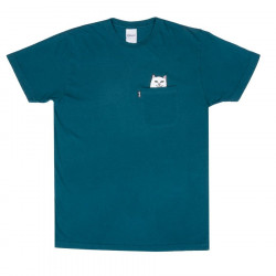 RIPNDIP, Lord nermal pocket tee, Aqua