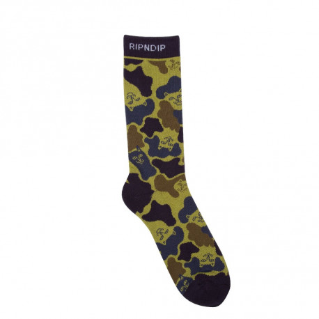 Nerm camo socks - Tropic camo