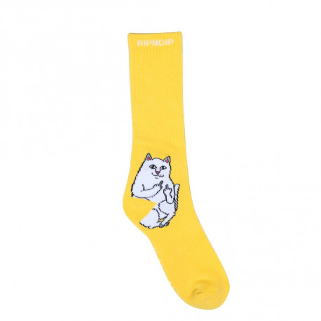 Lord nermal socks - Yellow
