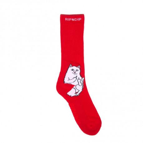 Lord nermal socks - Red