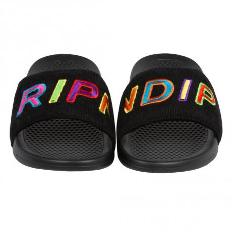Prisma corduroy slides - Black