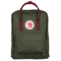 FJALL RAVEN, Kanken, Forest green-ox red