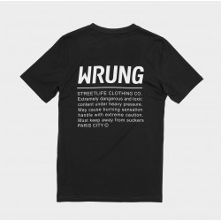 WRUNG, Caution, Black