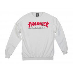 THRASHER, Sweat godzilla crew, White
