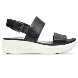 TIMBERLAND, Los angeles wind 2 bands sandal, Jet black