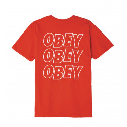 OBEY, Obey jumbled eyes, Red