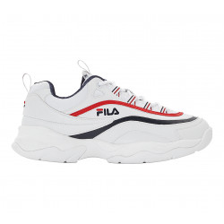 FILA, Ray low wmn, White / fila navy / fila red