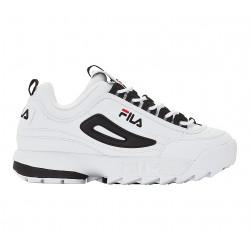 FILA, Disruptor cb low, White / black