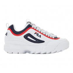FILA, Disruptor cb low, White / fila navy / fila red