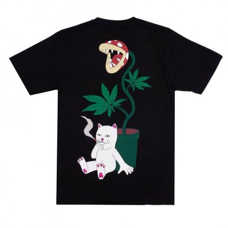 Herb eater pocket tee - Black