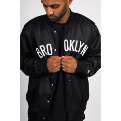 NEW ERA, Nba team wordmark jacket bronet, Blk