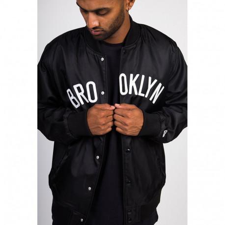 Nba team wordmark jacket bronet - Blk