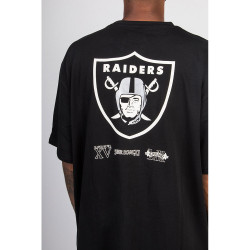NEW ERA, Nfl oversized super bowl tee oakrai, Blk