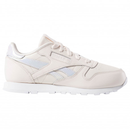 Classic leather - Pale pink/white