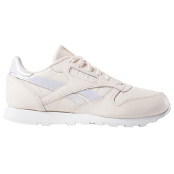 REEBOK, Classic leather, Pale pink/white