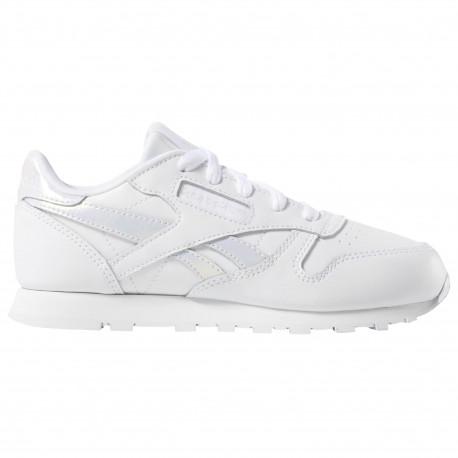 Classic leather - White/white