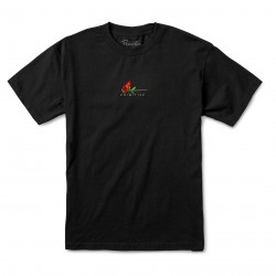 PRIMITIVE, T-shirt burning, Black