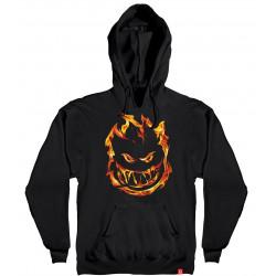 SPITFIRE, Sweat hood 451 premium print, Black