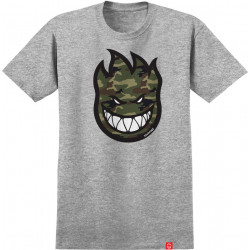 SPITFIRE, T-shirt bighead fill camo ss, Athletic heather