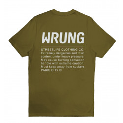 WRUNG, Caution, Khaki