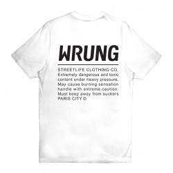 WRUNG, Caution, White