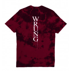WRUNG, Devil rock, Burgundy tie & die