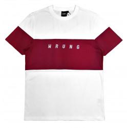 WRUNG, Lineblock, White / burgundy