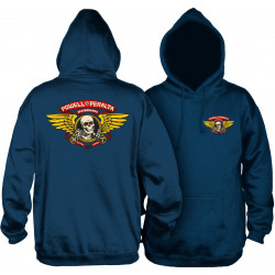 POWELL PERALTA, Sweat winged ripper hood, Navy