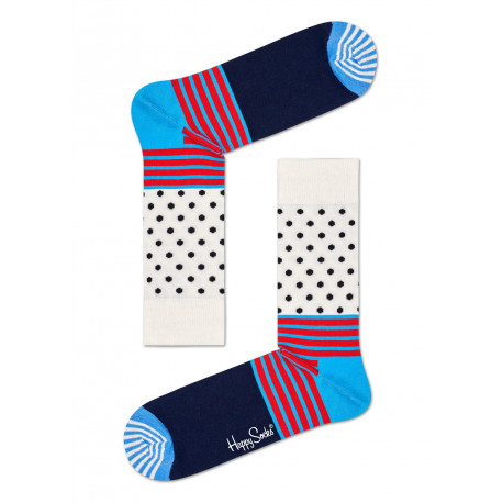 Stripes and dots sock - 6700