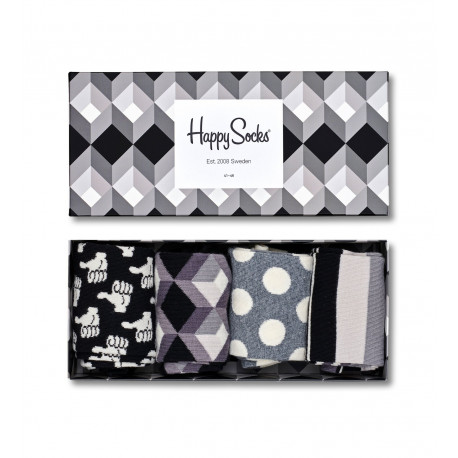 Black and white gift box - 9004