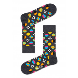 HAPPY SOCKS, Clashing dot sock, 9700