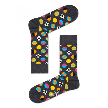 Clashing dot sock - 9700
