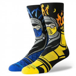 STANCE, Sub zero vs scorpion, Black