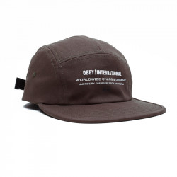 OBEY, Integrity 5 panel hat, Army