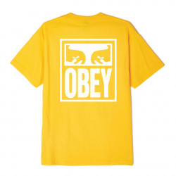 OBEY, Obey eyes icon, Gold