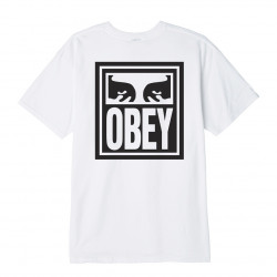 OBEY, Obey eyes icon, White