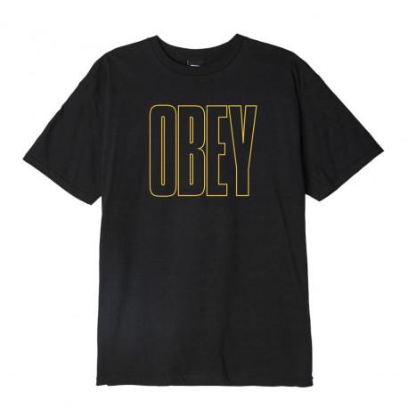 Obey worldwide line - Black