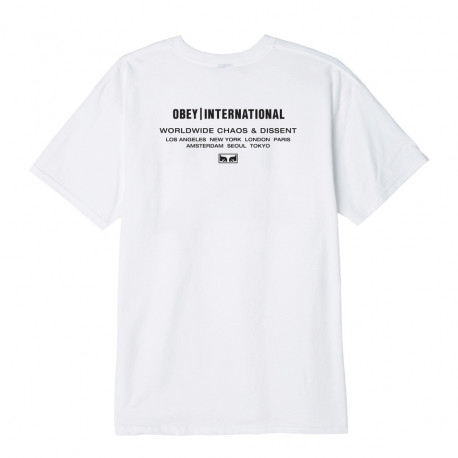 Obey intl. chaos & dissent - White