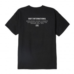 OBEY, Obey intl. chaos & dissent, Black