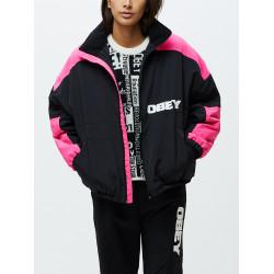 OBEY, Bruges jacket, Black